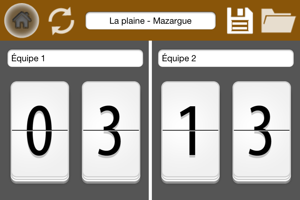A qui le point - Application Iphone / Ipad
