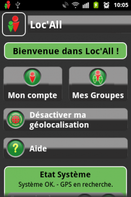 Loc All - Application Android