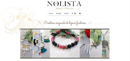nolista bijoux création