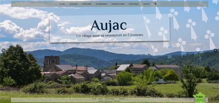 Site de la Mairie d'Aujac