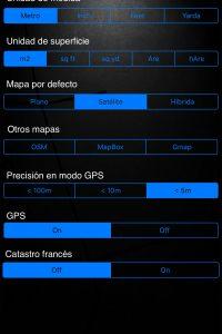 A2+ Aplicación Iphone / Ipad para la medición de la superficie, perímetro y Distancia.