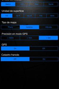 A2 - Aplicación Iphone / Ipad para la medición de la superficie, perímetro y Distancia.
