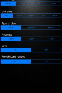 A2 - Iphone / IPad Application for Surface Measurement, Perimeter and Distance.