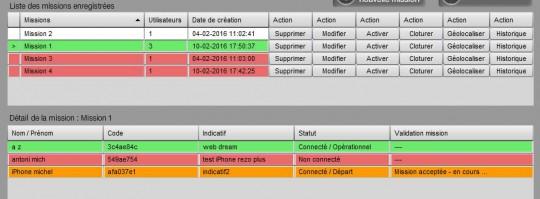 Utilisation Mission REZO Inline 3