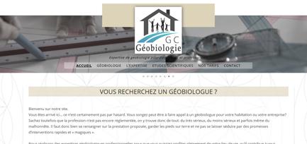 Site de GC Géobiologie