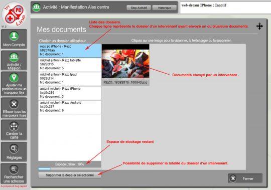 Envoi de document au PC - REZO+ PC Inline